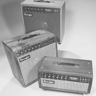 vintage shot of early mesa boogie amps