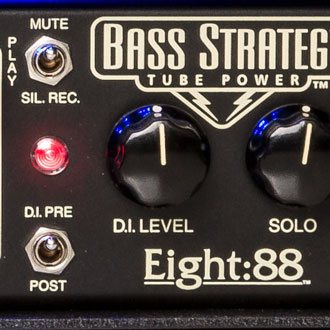 Bass Strategy MUTE, PLAY and SILENT RECORD