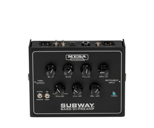 Bass Preamplifiers Subway® Bass DI-Preamp