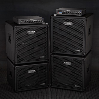 Subway D-800+ Bass Amps with Subway Cabinets
