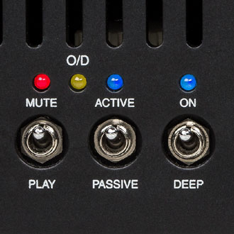 Subway D-800 Bass Amp Mute Active Passive Switch