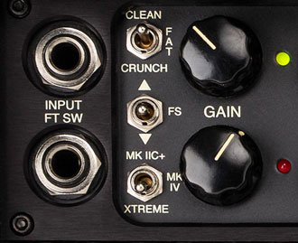 Mark Five 25 Sound Modes
