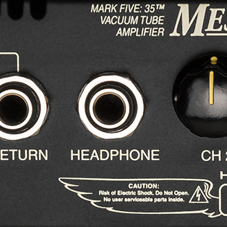 Mark Five 35 Headphone Output