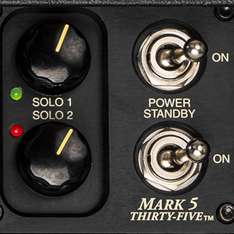 Independent SOLO Controls for each Channel allow different footswitchable volume levels–in addition to your Channel MASTER settings– that you can switch to during performance.