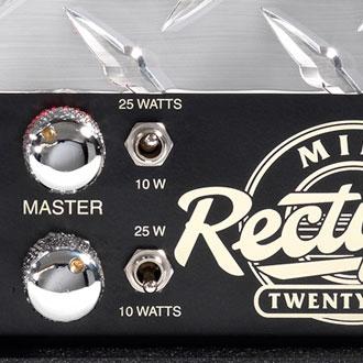 Multi-Watt options of 10 or 25 watts