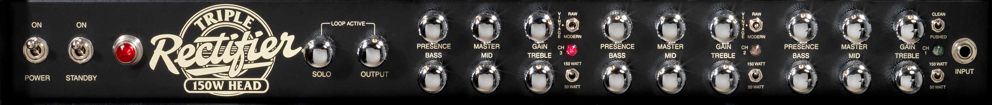 Triple Rectifier Front Panel