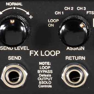 Completely Bypass-able Fully Buffered FX Loop with Send Level Control