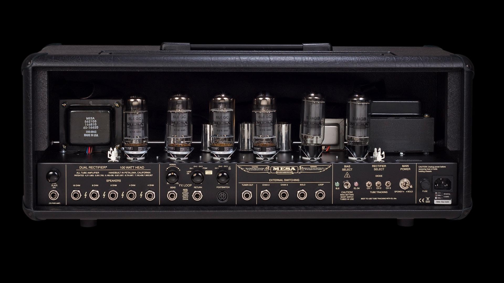 Dual Rectifier 100 Watt Head Mesa Boogie 174