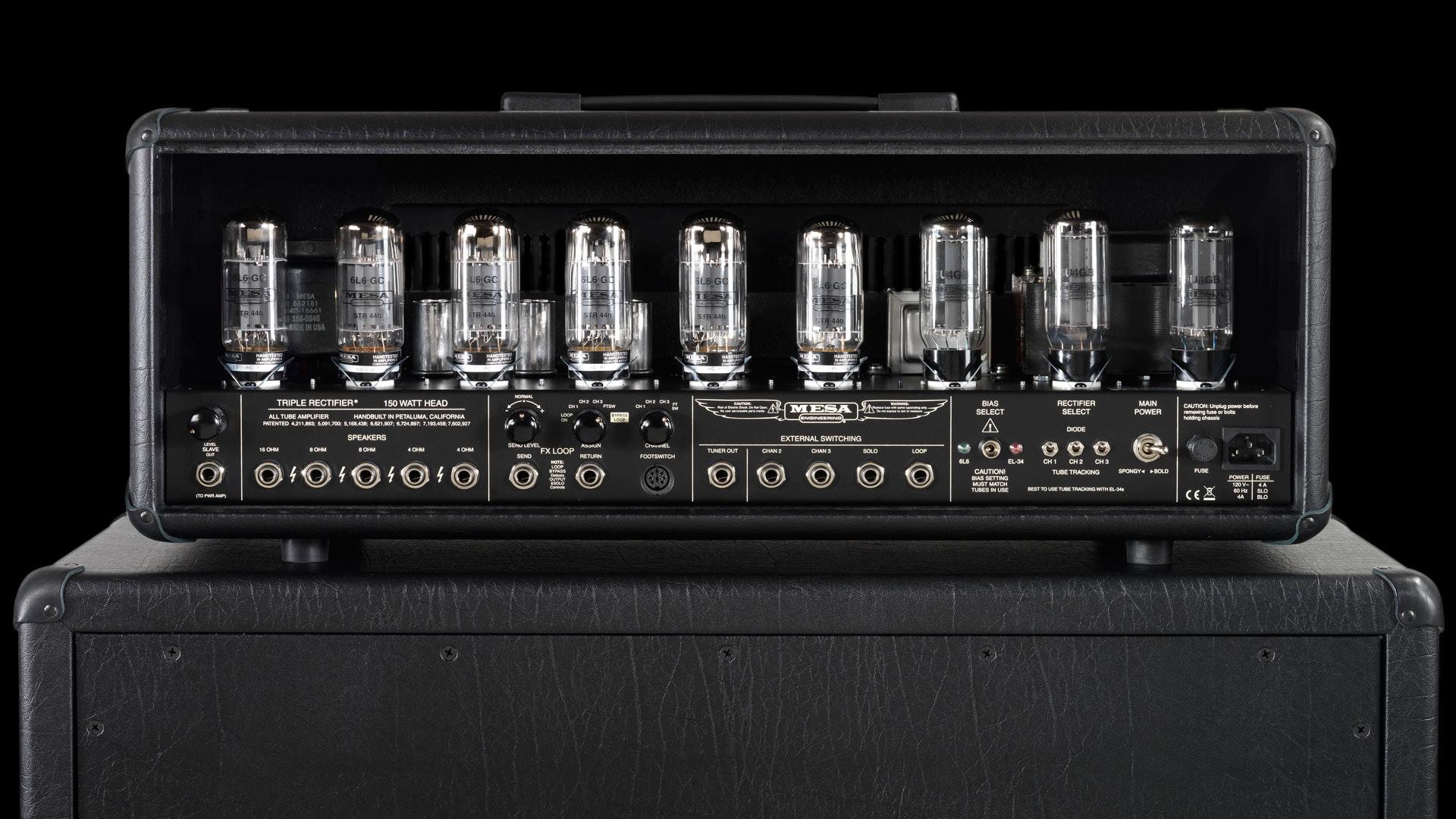 Mesa Boogie Triple Rectifier Head | MESA/Boogie®