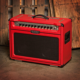 Royal Atlantic Combo in Red Bronco with a Black Grille
