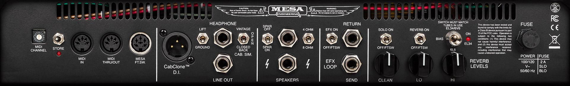 Mesa Boogie Triple Crown TC-50 Guitar Amplifier   MESA/Boogie®
