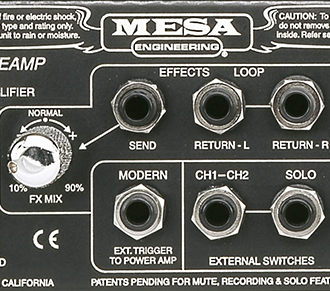 fx loop - Mesa Boogie Rectifier Recording Preamp Rack Mount