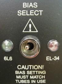 Mesa Boogie Rectifier Bias Switch