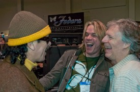 Randall Smith, Andy Timmons & Carlos Santana - NAMM 2008