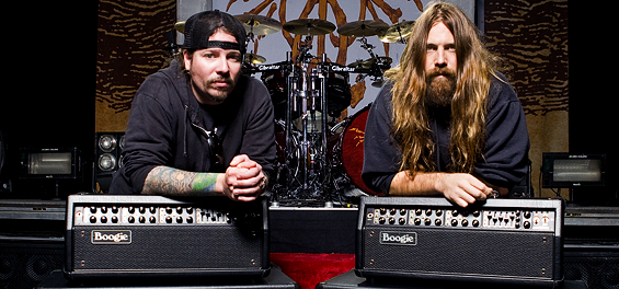 Wille Adler and Mark Morton ~ Lamb of God and Mesa/Boogie Mark Vs