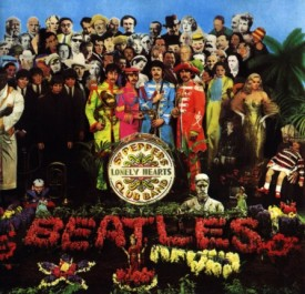 Beatle's Sgt. Pepper album cover