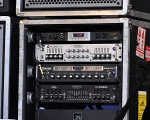 Rhonda Smith's Amp rig