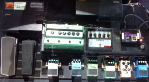 Dominic Miller's Pete Cornish Wired Pedalboard