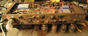 Image of the original Rectifier Prototype from the early 1990's built into a Mark IV chassis