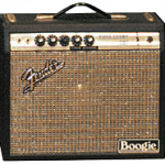 An early Fender Princeton which has been modified by Randall Smith in the late 60s and is now a Princeton Boogie