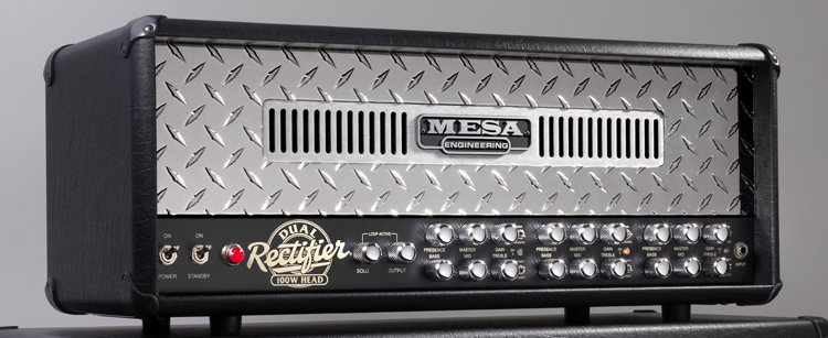 The one and only...Dual Rectifier head!