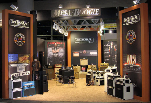 Mesa/Boogie booth at the 2010 Musik Messe trade show