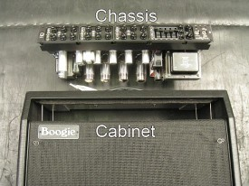 The Chassis and the Cabinet. Important to distinguish between the two when looking for your serial number