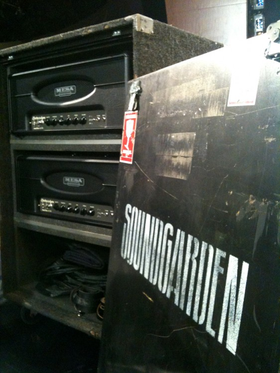 Electra Dyne and Soundgarden logo