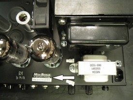 Mark V Serial Number Location