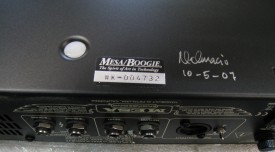 Walkabout rackmount unit with serial number decal on the underside of the amp towards the rear