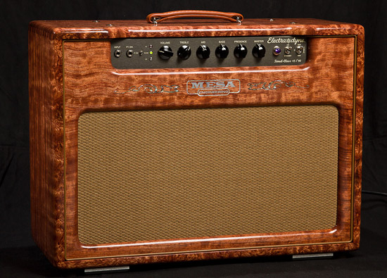 Electra Dyne 1x12 Combo in Private Reserve Quilted Bubinga and Custom Logo Inlay