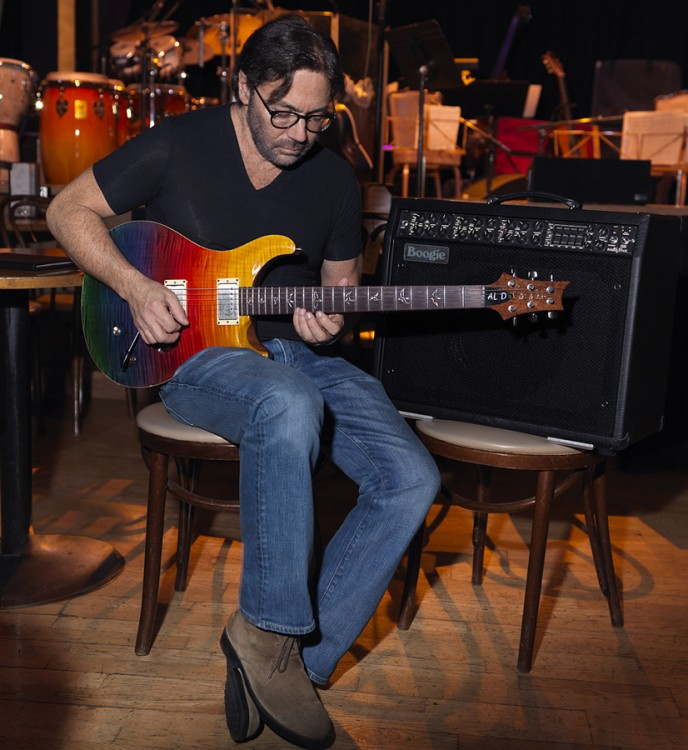 Al Di Meola with the Mesa/Boogie Mark V and his Signature Paul Reed Smith Prism