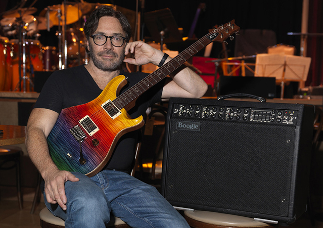 Al Dimeola, the Mark V and his signature Paul Reed Smith Prism Guitar