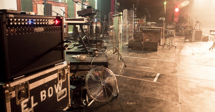 The Elbow stage - Roadster Combo, Big Block 750 & Vintage Powerhouse Bass 4x12 reporting for duty