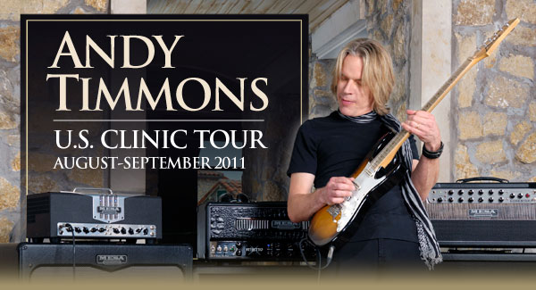 Andy Timmons 2011 US Clinic Tour