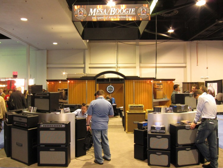 Welcome to the Mesa/Boogie booth at NAMM 2011