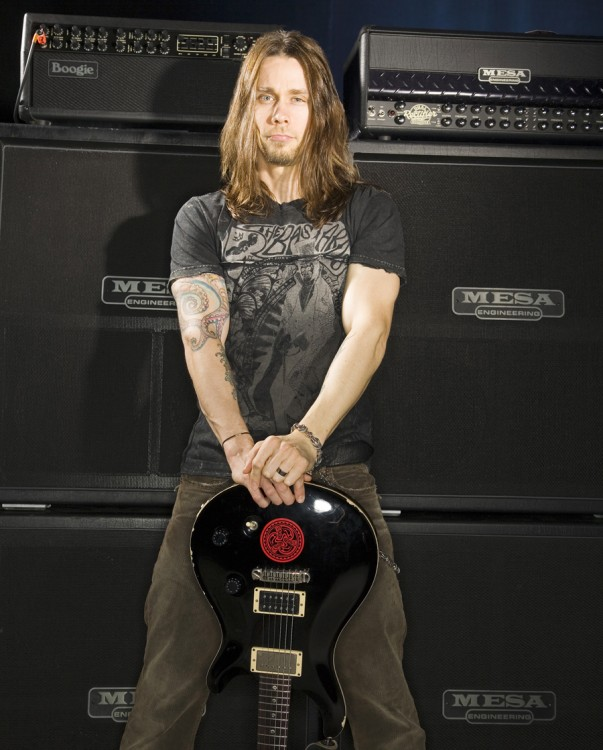 Myles Kennedy/Alter Bridge 2007 with Mark IV and Roadster heads and Rectifier 4x12s