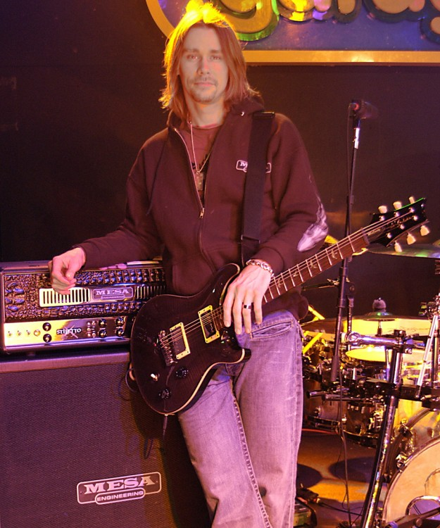 Myles Kennedy/Alter Bridge Circa 2006 using the Stiletto for blending tones with Mark's tried-and-true Triple Recs