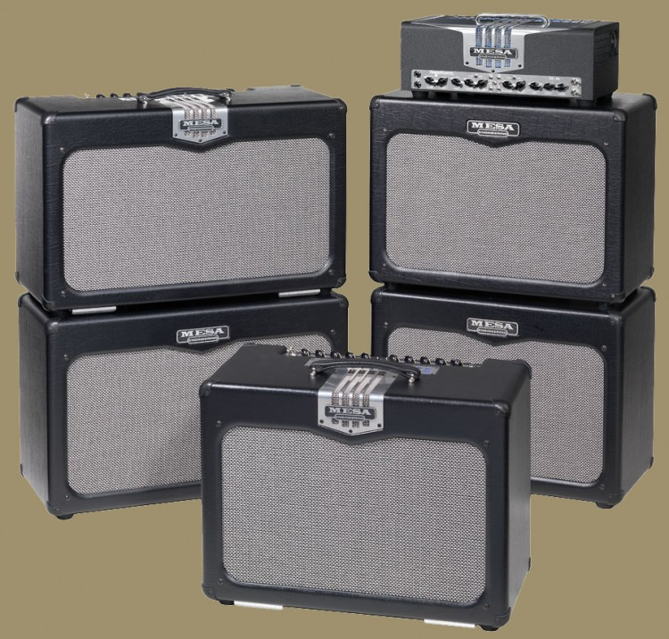 The TransAtlantic TA-30 Family (L-R): TA-30 2x12 combo & Extension, TA-30 1x12 combo and TA-30 head