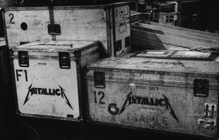 Metallica Roadcases