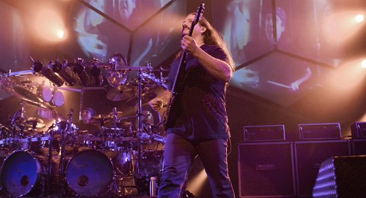 John Petrucci and Dream Theater at San Francisco's Warfield Theater for the first date of the 2011 U.S. Tour