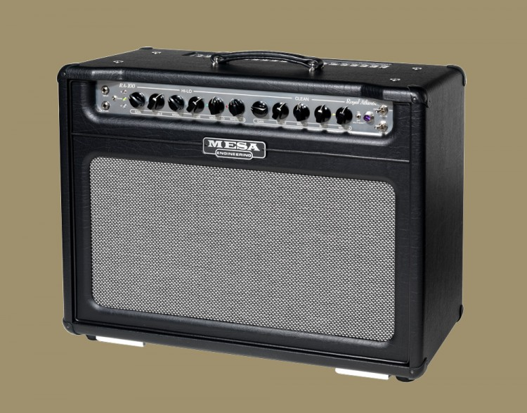 MESA/Boogie Royal Atlantic 2x12 Combo in Black Vinyl and Grey and Black Weave Grille