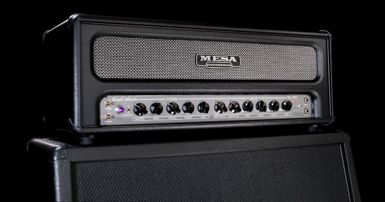 MESA/Boogie Royal Atlantic RA-100 Head and 4x12 Rectifier Cabinet