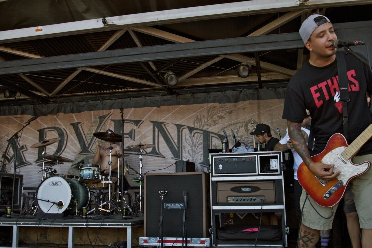 Set Your Goals (Audelio Flores) on Vans Warped Tour 2011