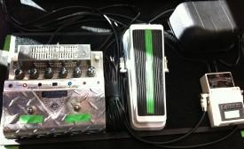 Ben Shepherd's Bass pedal board #2