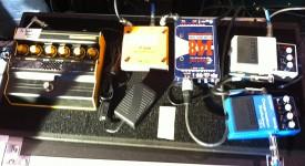 Ben Shepherd's Bass pedal board #1