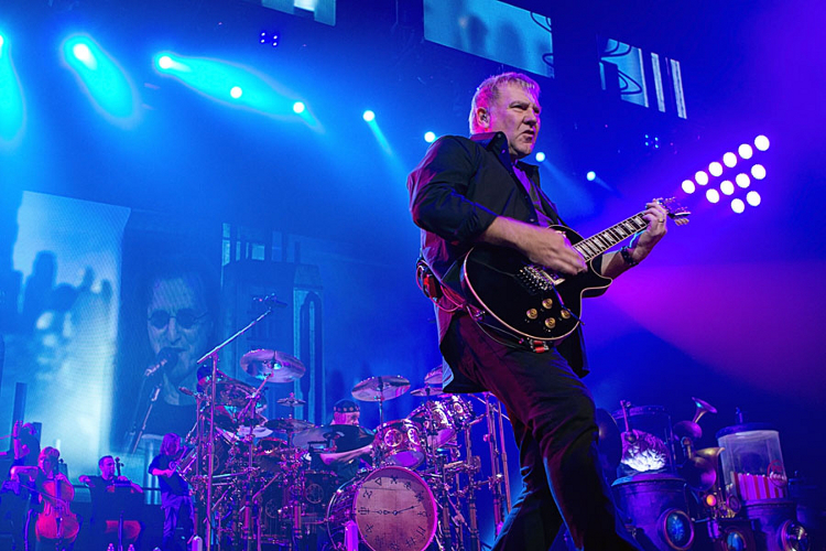 Alex Lifeson ....Neil and Geddy