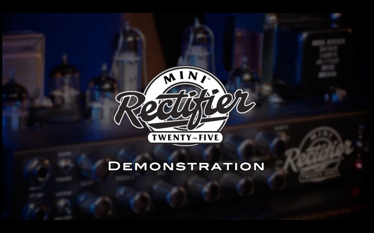 The MESA/Boogie Mini-Rectifier Demo Video