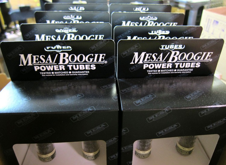 MESA EL-84 Power tubes tested, packed and labeled ready to deliver MESA tone & reliability for your amp