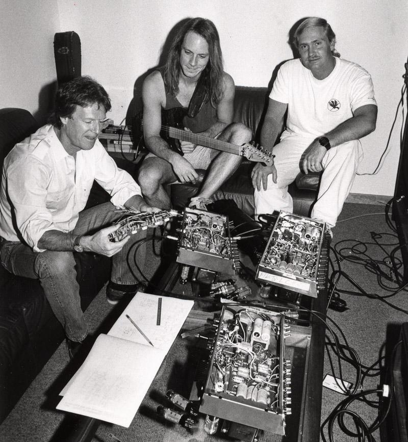 (L-R) Randall Smith, Doug West & Dan Van Reizen est. 1990